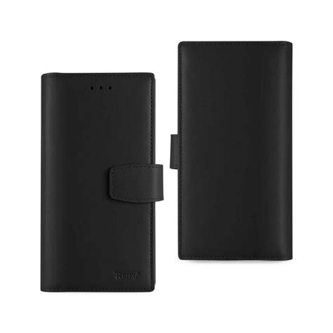 Track Leather Iphone 6 Plus 6s Plus reiko iphone 6 plus 6s plus genuine leather design in black glfc01 iph6plsbk the home depot