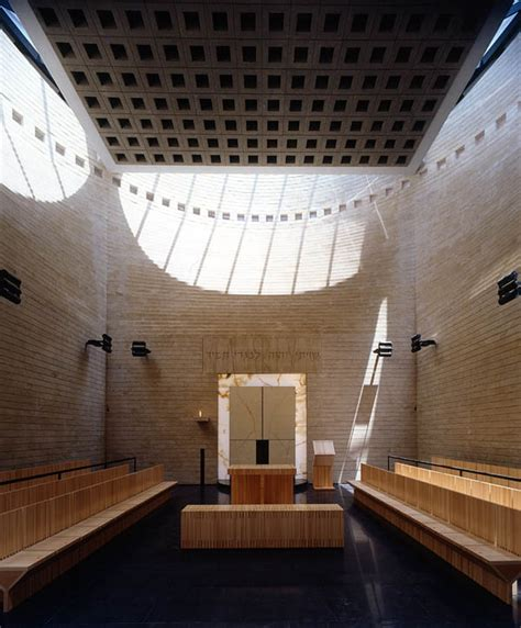 Shul Mba by Botta Mario Cymbalista Synagogue Architecture