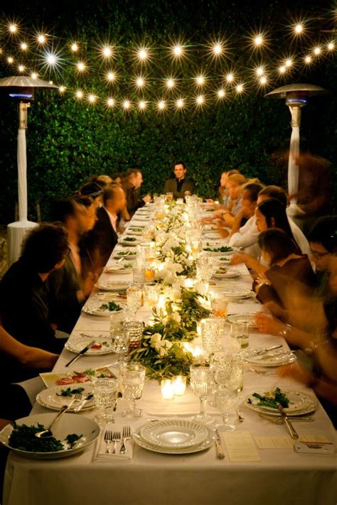 backyard dinner ideas best 25 outdoor dinner ideas on