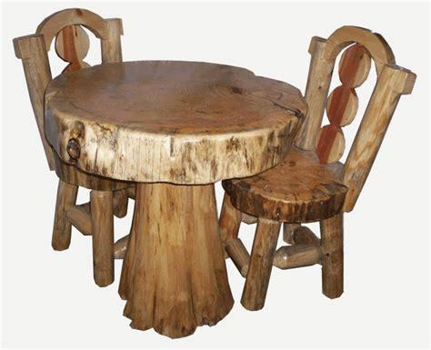 sgabelli fai da te tavolini e sgabelli da rustici ceppi di legno