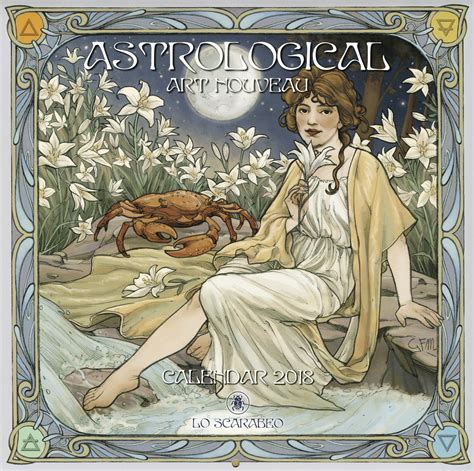 llewellyns 2017 steunk calendar 0738747637 llewellyn worldwide astrological art nouveau 2018 calendar product summary