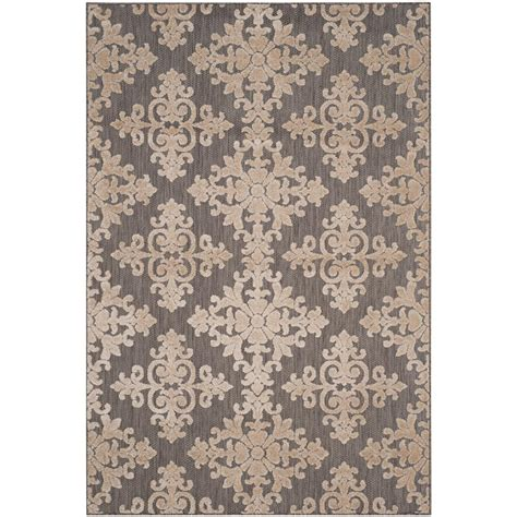 Cottage Area Rugs Safavieh Cottage Indoor Outdoor Taupe 8 Ft X 11 Ft 2 In Area Rug Cot906t 8 The Home Depot