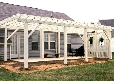 patio trellis patio trellises here s a large white patio trellis