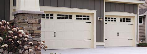 Faux Garage Door Painting - chi carriage house garage door models 5283 and 5983