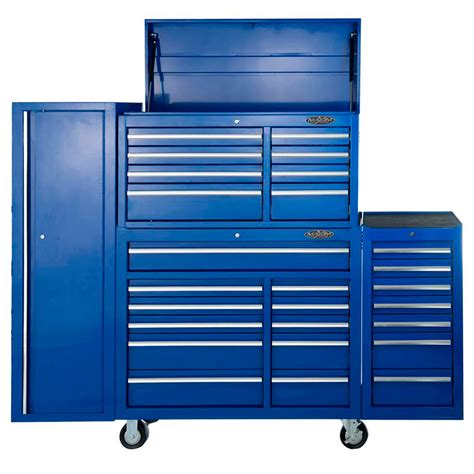 Side Cabinet buy maxim 28 drawer combo blue tool box locker side