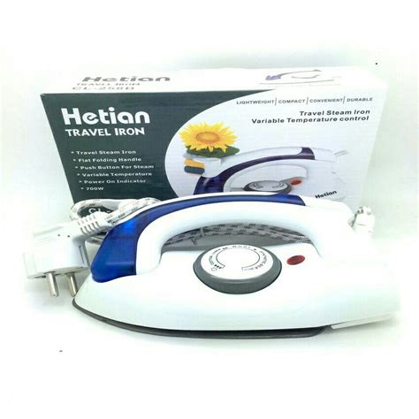 Setrika Steam Uap setrika uap mini setrika lipat steam iron traveling bg0254wd elevenia