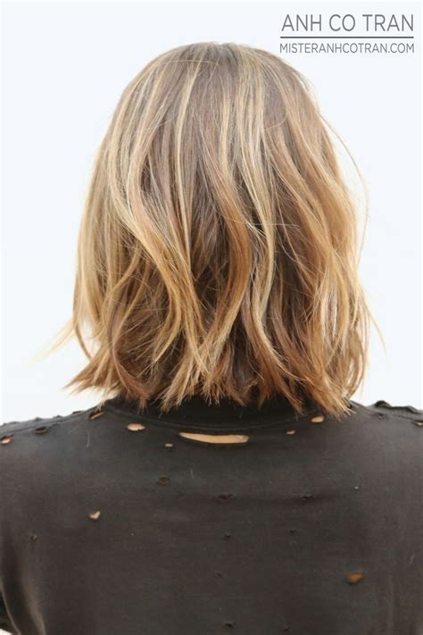 how to see if a haircut looks good on you textured lob wish my hair could look good good hair