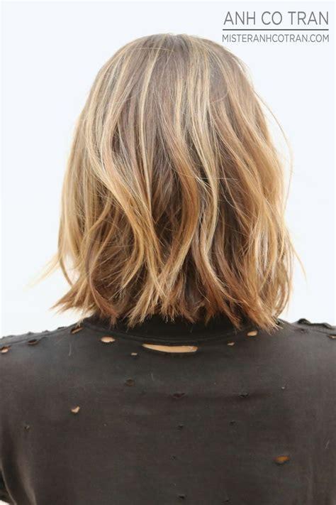 wavy textured lob textured lob wish my hair could look good good hair