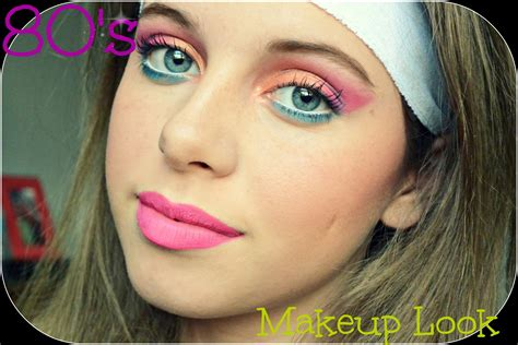 hairstyles and makeup tutorials 80 s makeup tutorial youtube