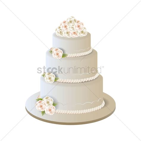 Wedding Cake Vector by Wedding Cake Vector Image 1875202 Stockunlimited