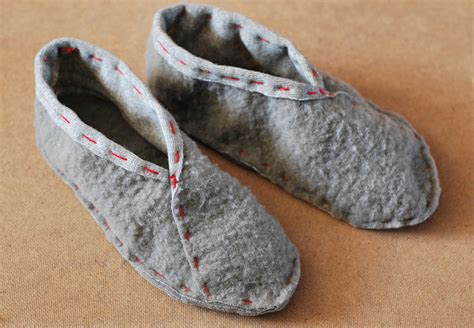 How To Make Handmade Slippers - easy to sew slippers rags to couture