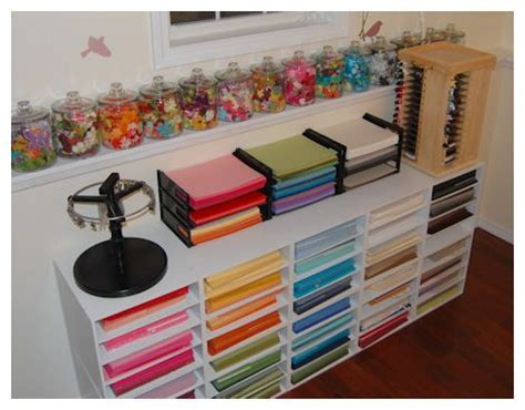 Craft Room Paper Storage - paper storage craft room storage ideas
