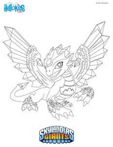 skylanders dragon coloring page download