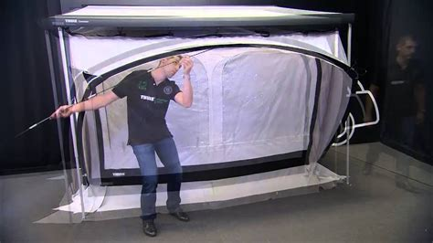 rv awning instructions rv awning tents thule quickfit installation youtube