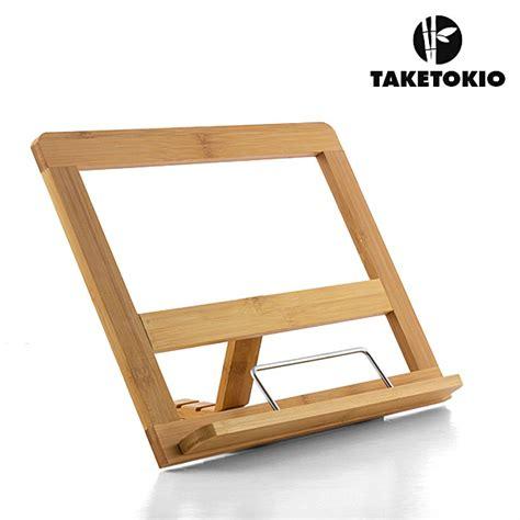 leggio da tavolo ikea leggio per libri spartiti legno di bamb 249 bamboo da tavolo