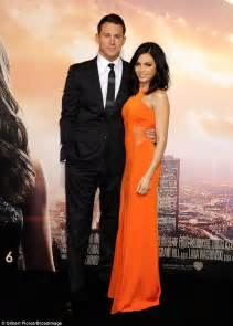 Jenna Dewan stakes her claim on Channing Tatum at Jupiter