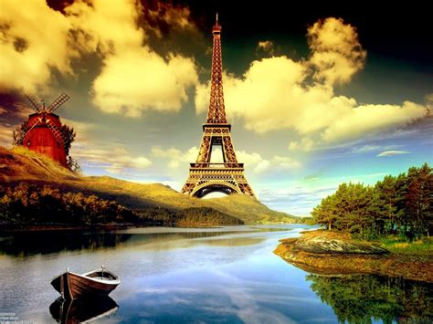free wallpaper eiffel tower eiffel tower cartoon hd desktop wallpaper hd desktop