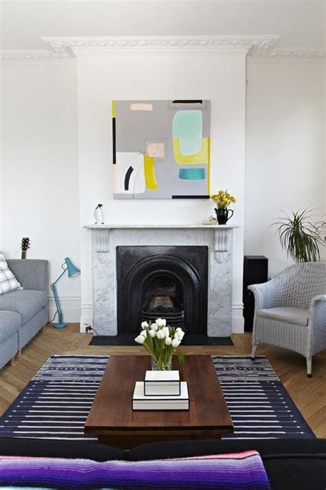 Design Sponge Living Room by The Tulips In This Home Add Another Graphic Element
