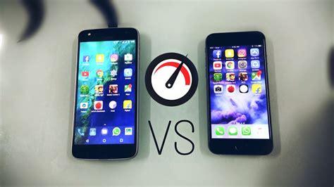 moto z play vs iphone 6 speed test