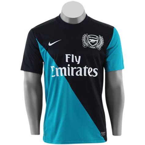Jersey Arsenal Away 1112 camisa arsenal visitante 11 12 marinho e azul 171 portugal