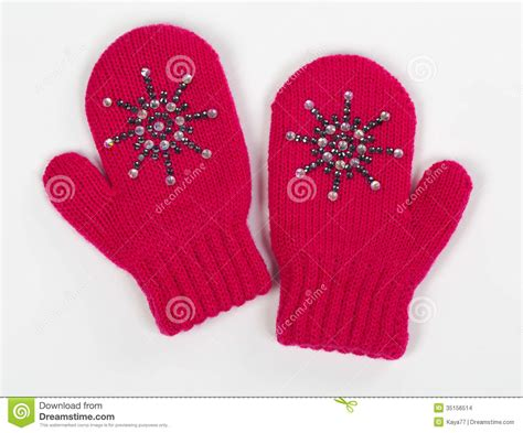 8 Pairs Of Mittens And Gloves by Gloves Are A Pair Of Knitted Stock Photo Image 35156514