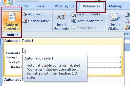 membuat daftar isi dari file word lain membuat daftar isi dari file word lain jendela tutorial