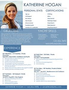 Resume Layouts Free by Super Yacht Resume
