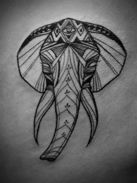 african elephant tattoo designs tribal elephant