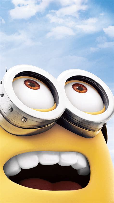 wallpaper hd iphone minion despicable me 2 glasses the iphone wallpapers