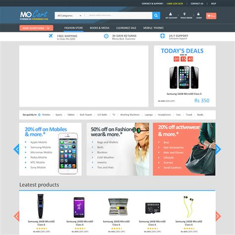 templates for ecommerce 20 best free psd website templates for business portfolio