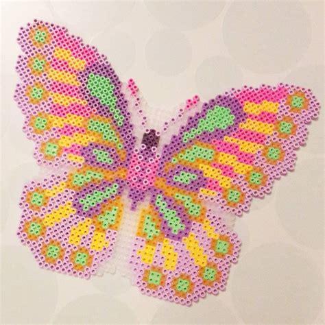 perler butterfly butterfly hama nabbi by pandurogranby