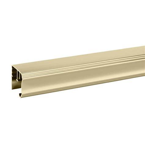 Delta Shower Door Parts Delta 48 In To 60 In Sliding Shower Door Track Assembly Kit In Bronze Sdlsd60 Brz R The Home