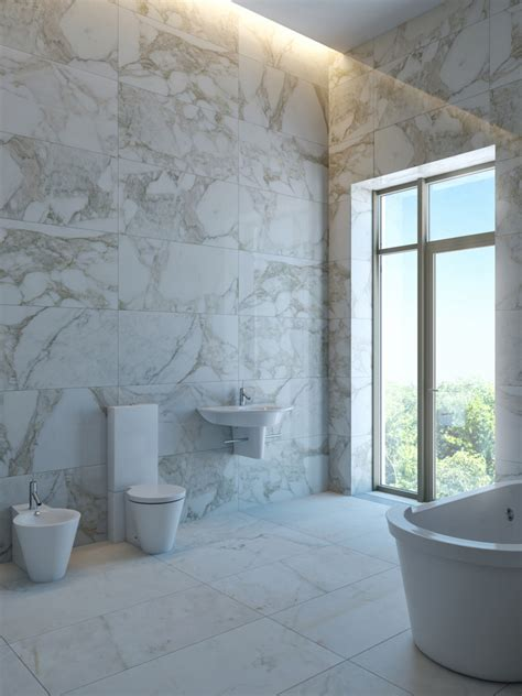 Porcelain Bathroom Tile Ideas by Travertine Vs Marble What S The Difference