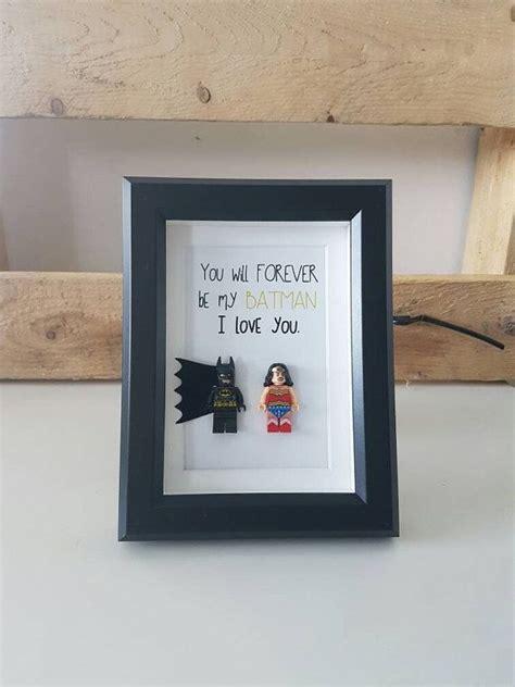 ideen weihnachtsgeschenke basteln 5946 personalised batman gifts lego frame birthday