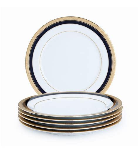 Noritake Vases Noritake Crestwood Cobalt Gold Large Dinner Plate Set Of