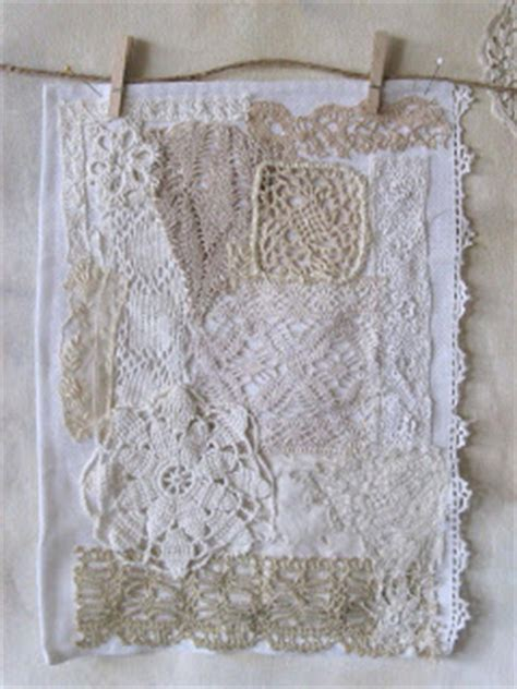 Lace Patchwork - a bird in the lace patchwork