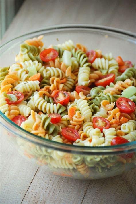 classic pasta salad pasta pinterest