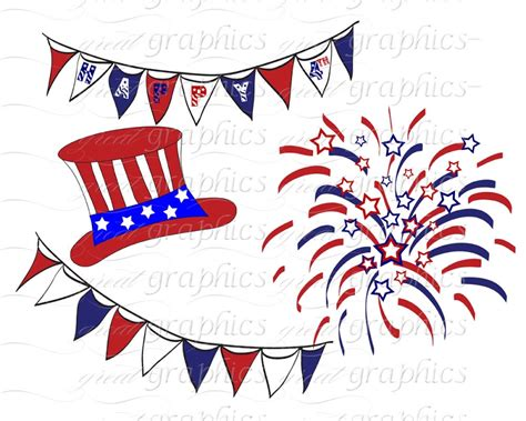 Wedding Clip Usa by 4th Of July Images Free Cliparts Co