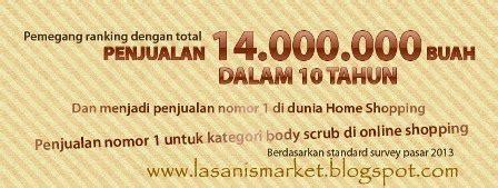 Plu Ginseng Scrub lasanis market plu scrub lulur herbal