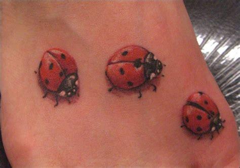 cute ladybug tattoo designs pics for gt realistic ladybug
