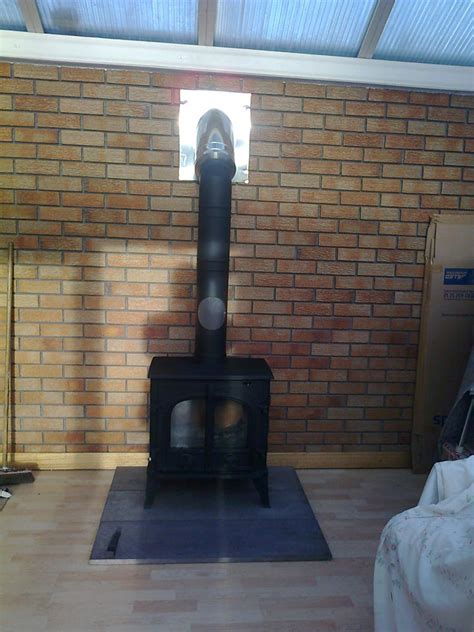 Install A Fireplace In A House Without One by I Don T A Chimney Can I Still A Wood Burning