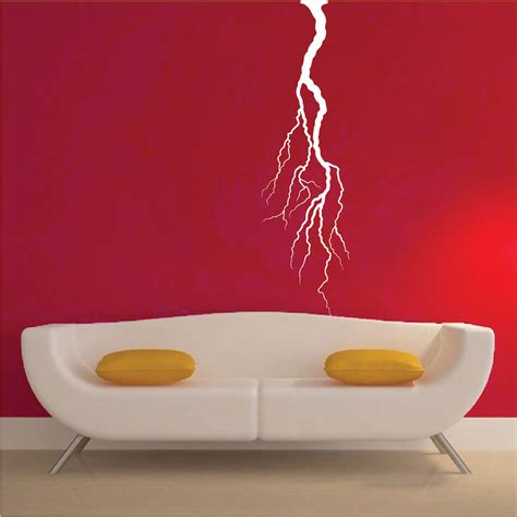 lightning bolt wall decal sticker trendy wall designs