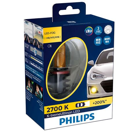 Lu Kabut Led Mobil x treme ultinon led lu kabut mobil 12793unix2 philips
