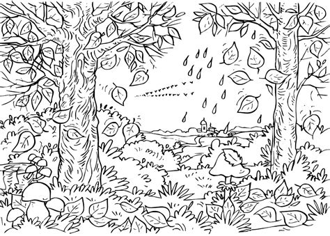 coloring pages for adults nature free printable abstract coloring pages for adults
