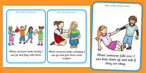 What Makes A Good Home how to be a good friend cards how to be a good friend