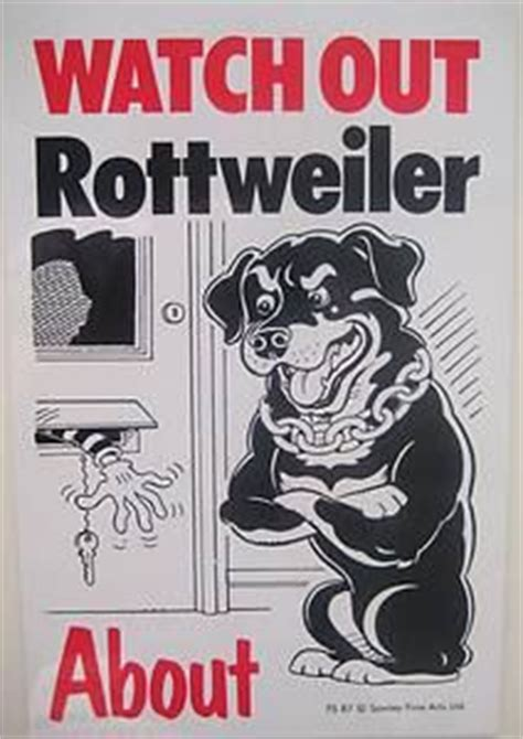 beware of rottweiler sign rottweiler on rottweilers german rottweiler and