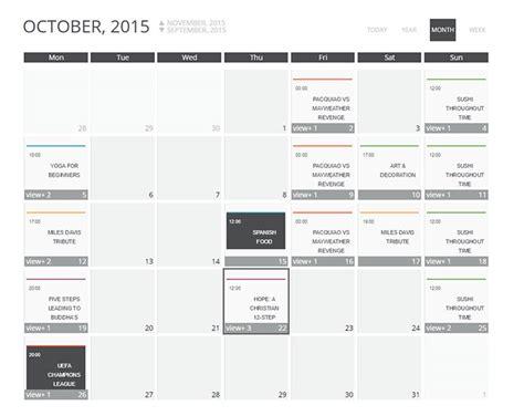 design events calendar 2015 10 best wordpress calendar plugins worth their weight in
