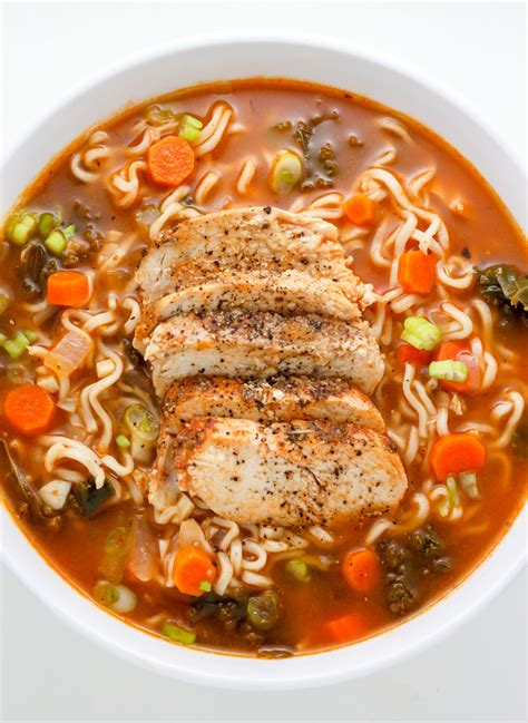 Chicken Ramen sunday suppers blackened chicken ramen noodle soup