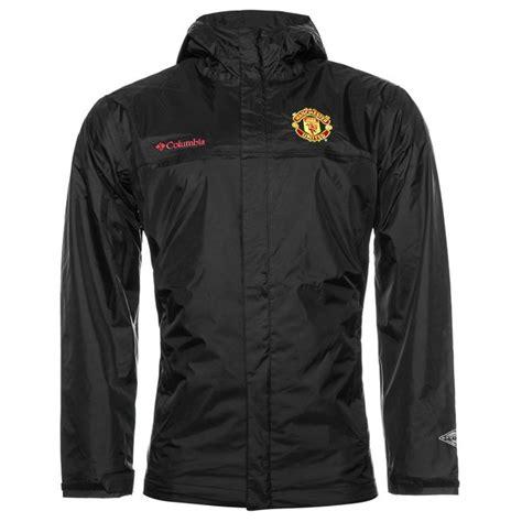 Jaket Playmaker Waterproof Manchester United Black manchester united x columbia jacket watertight ii