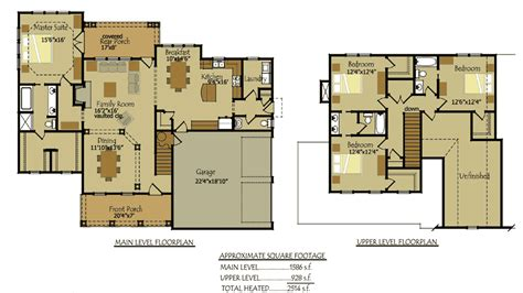 floor plans for cottages 4 bedroom country cottage house plan by max fulbright designs